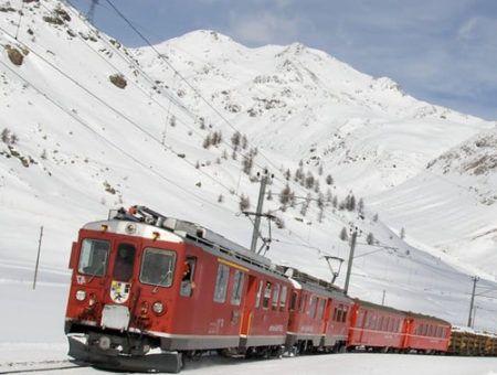 Met de trein naar Oostenrijk