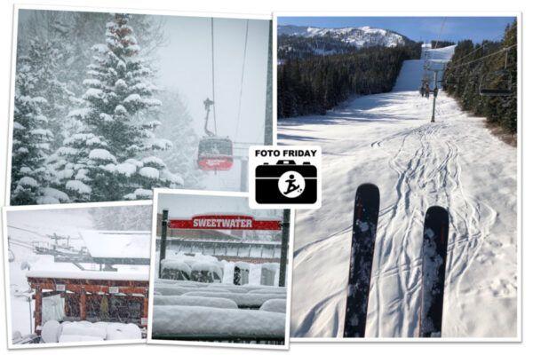 Live! Sneeuwdump in Amerika en skigebieden open in Canada