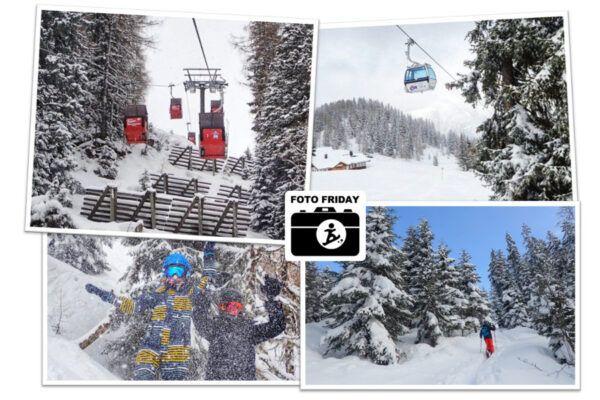 LIVE: Sneeuwdump zorgt voor prachtige beelden uit de Alpen