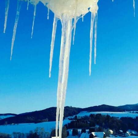 Foto Friday 29 - koud met ijspegels