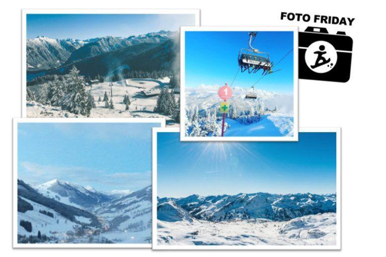 Foto Friday #54 - verse sneeuw en een strakblauwe lucht