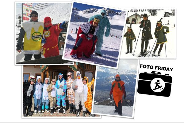 Carnaval op wintersport