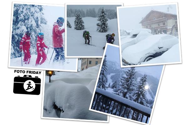 Foto Friday #71 - dik pak sneeuw in april (lokaal meer dan 130 cm)