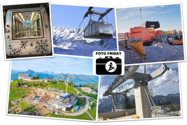 In de skigebieden wordt druk gebouwd deze zomer