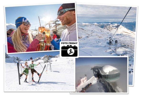 Alle gletsjer skigebieden open in Oostenrijk