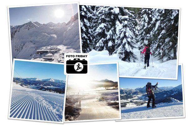 Winterbeelden: zon, zon, sneeuw en... lege pistes