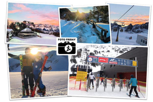 5 foto's waarvan je vroeg op wil staan tijdens je wintersport