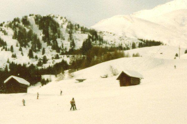 Fiss 1986 - oude wintersport foto