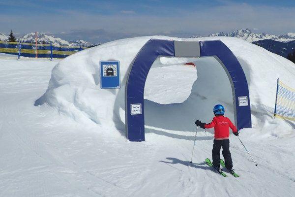 Het skigebied van Flachau is erg kindvriendelijk.