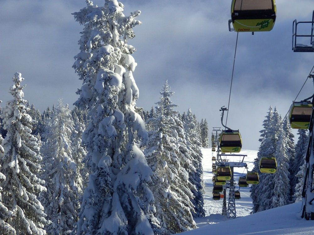 Wintersport Flachau - achterjet - skigebied Flachau