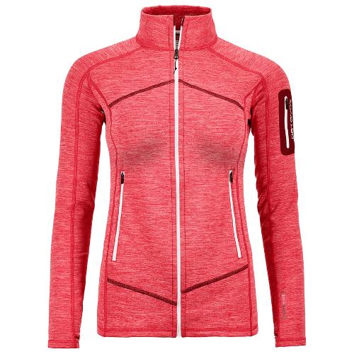 fleece vest dames roze