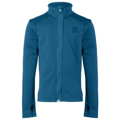 fleece vest kind blauw