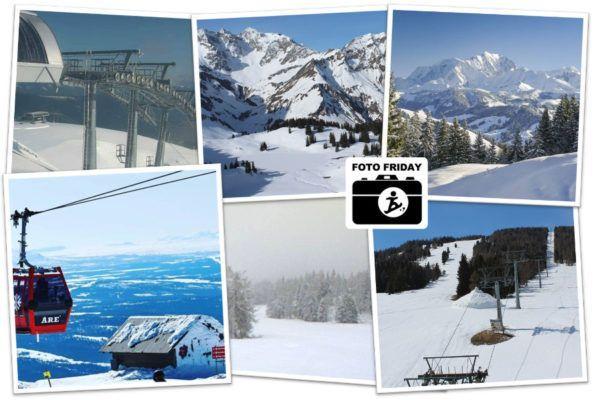 Winterbeelden: zo mooi zien de lege skigebieden er NU uit