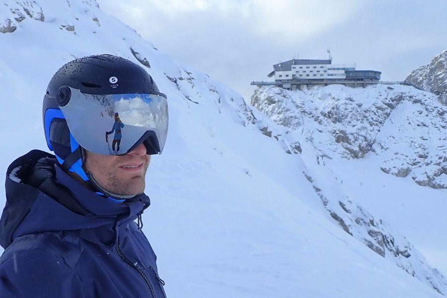 Giro essence - skihelm met vizier