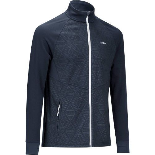 goedkope fleece heren fleecevest van decathlon