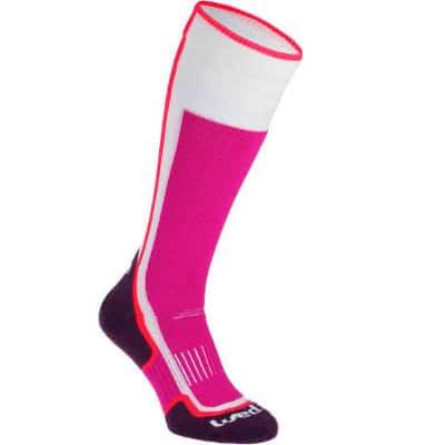 Goedkope skisokken - roze