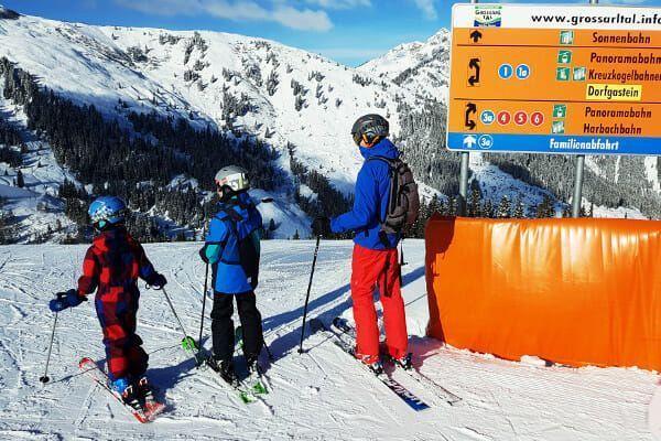 Kindvriendelijk skigebied Oostenrijk: Grossarl