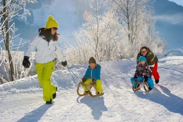 Skigebied Grossarltal is een wintersport paradijs voor families