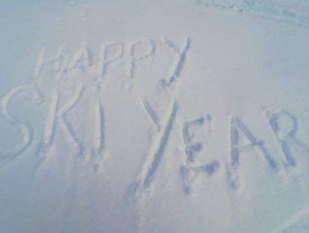 Gelukkig nieuwjaar voor alle wintersporters