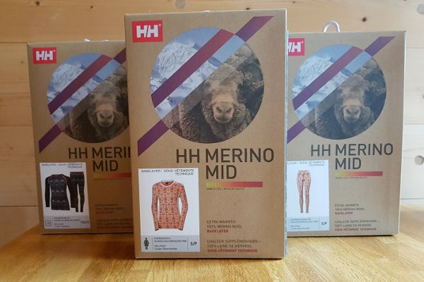 Review Helly Hansen merino thermokleding