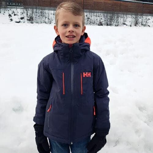 Review Helly Hansen JR Aura ski jas voor kinderen