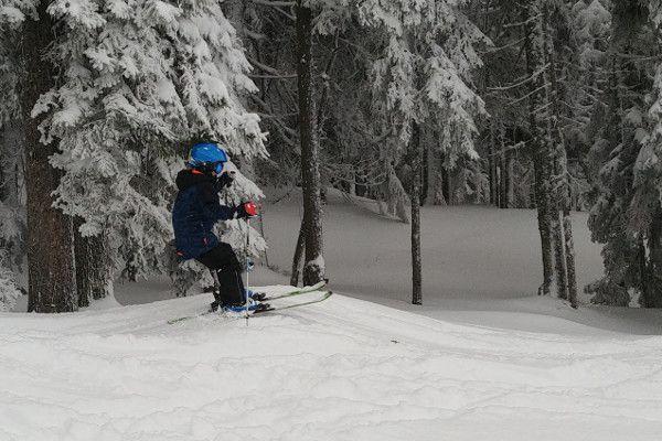 ski oefeningen kinderen - hobbels skien