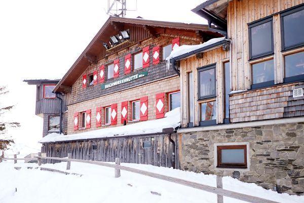 Hochwurzen is de tweede bergtop in de 4 bergen skitour