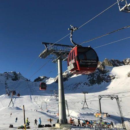 Foto Friday #11 - Kaiserwetter op de gletsjers