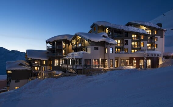 Le hameau du Kashmir - appartement in Val Thorens