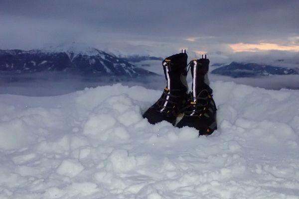 keen snowboots reflecteren