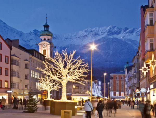 kerst wintersport in Innsbruck