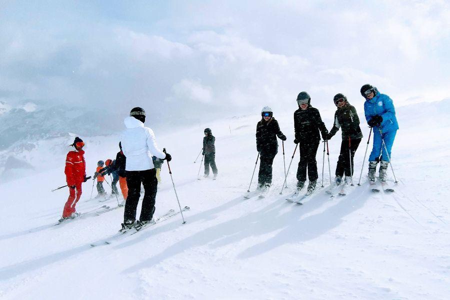 kids ski week frankrijk