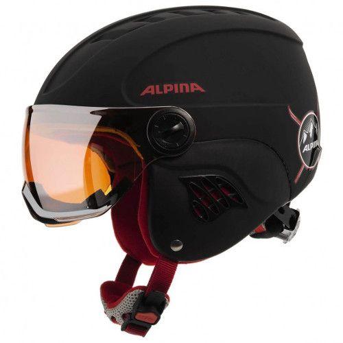 Kinder skihelm met vizier - Alpina Carat