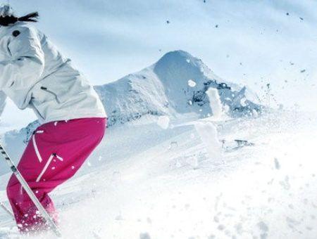 De leukste roze skibroeken voor meisjes en dames