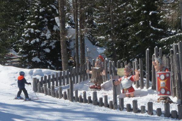 Kindvriendelijk klein skigebeid Galsterberg