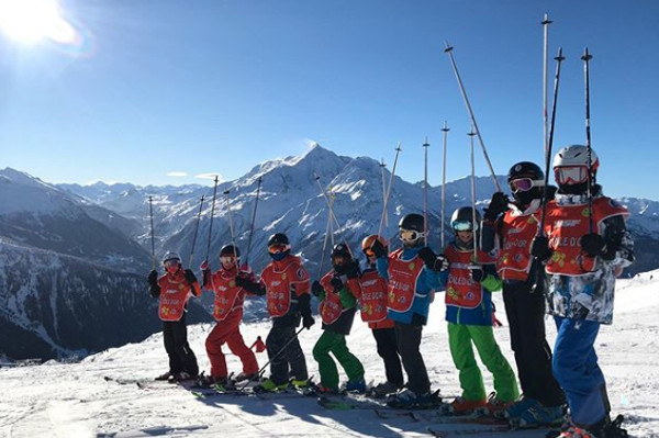 Kindvriendelijke skigebied la Rosière in Frankrijk