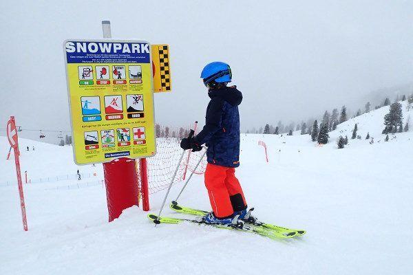 Kindvriendelijk skigebied Schlick 2000 in Fulpmes, Stubaital