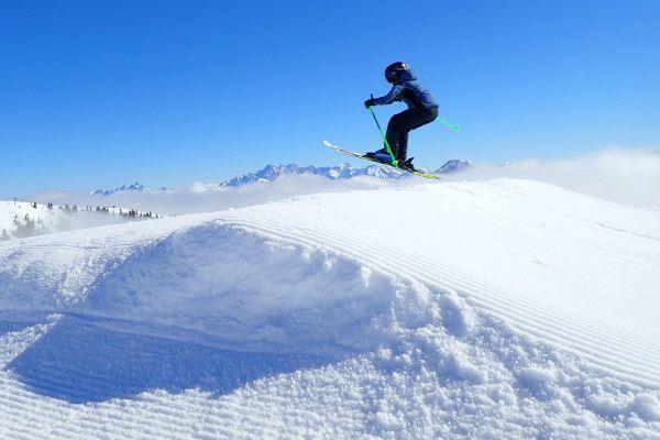 Kleinarl, een skigebied voor kinderen die al kunnen skiën