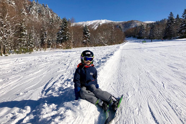 kindvriendelijk skigebied Japan