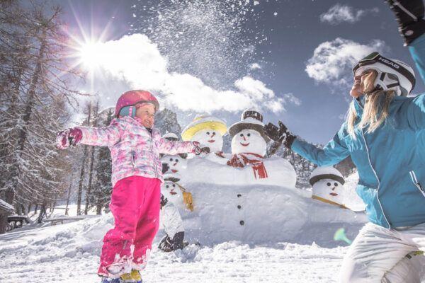 Ontdek de kindvriendelijke skigebieden van Zuid-Tirol - Italië