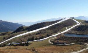 Raar maar waar: 20 graden en Kitzbühel opent het skigebied