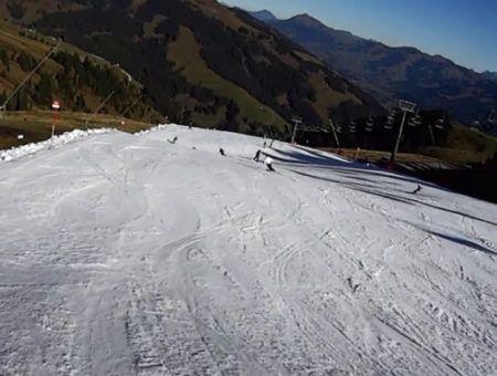 Skigebied Kitzbühel wil in oktober pistes al openen