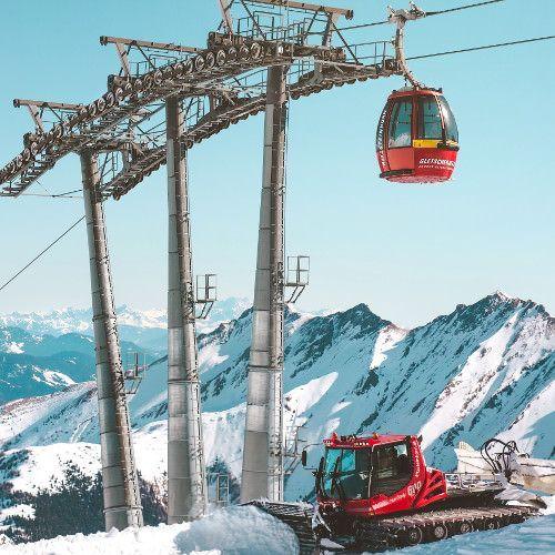 Wintersport meivakantie