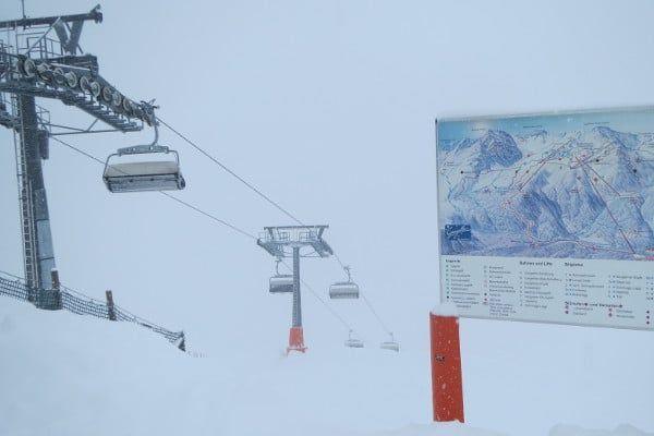 Klein skigebied