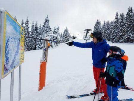 De charme van een klein skigebied