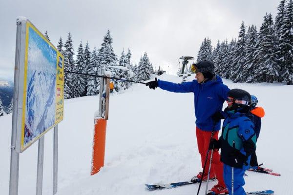 klein skigebied filzmoos