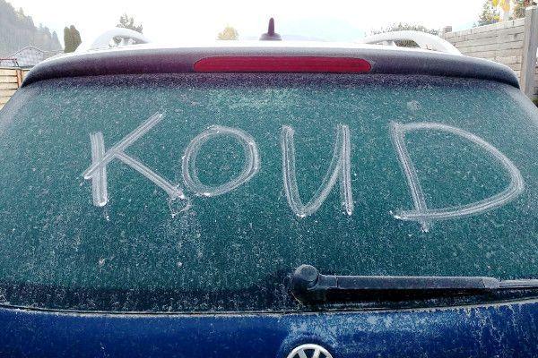 De winter start: kou en sneeuw onderweg naar Oostenrijk