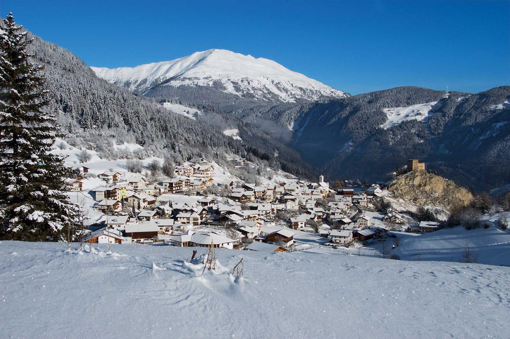 Serfaus-Fiss-Ladis skigebied impressie