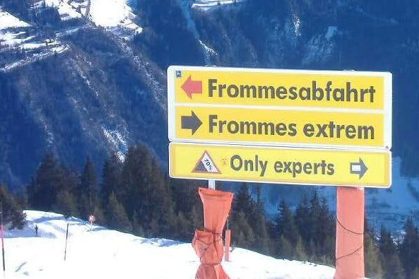 Frommes - langste afdaling Serfaus - Fiss - Ladis