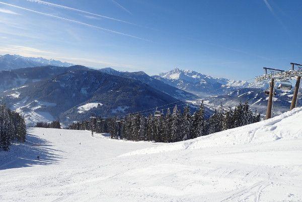 Lege piste in Ski Amade